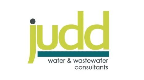 Judd Water and Wastewater Consultants sponsored link logo in yellow and green
