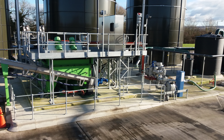 CDE Group's sludge screening service