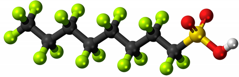 PFAS molecule