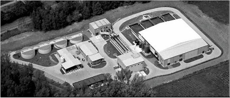 Figure 1. The Nordkanal MBR site, ca. 2005