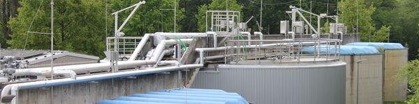Figure 4d. The new Anammox process tanks