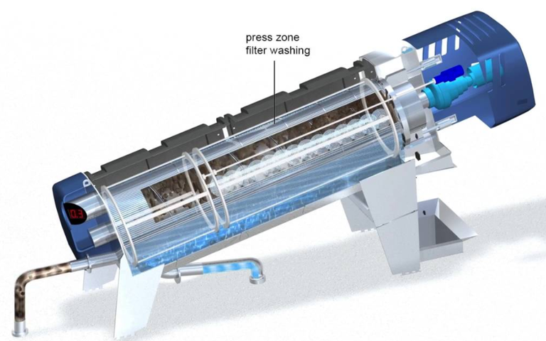 Huber Q-PRESS® screw press