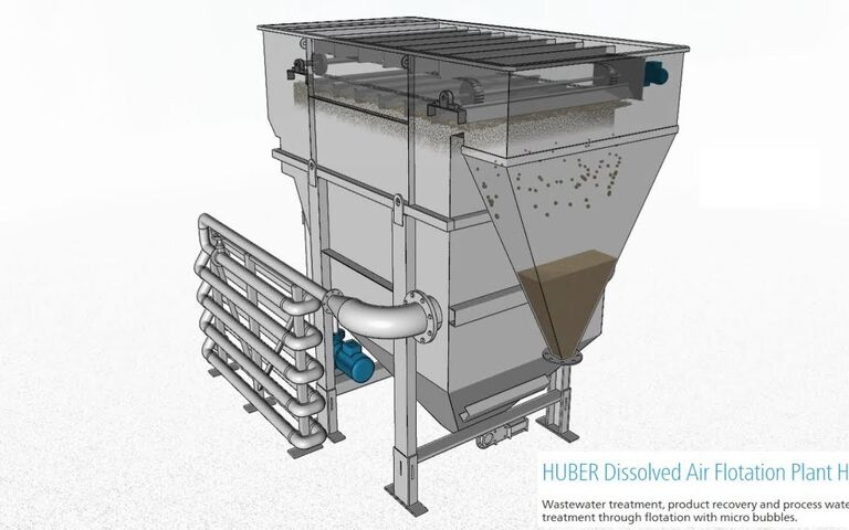Huber DAF process (HDF)
