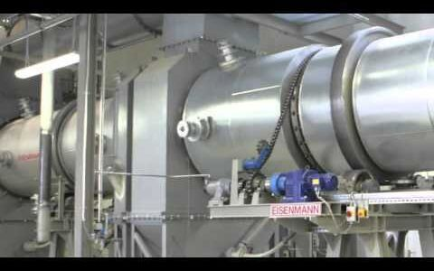 Example of pyrolysis process for sewage sludge: the Eisenmann Pyrobuster®