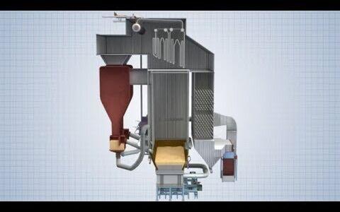 Bubbling vs recirculating bed reactor configurations