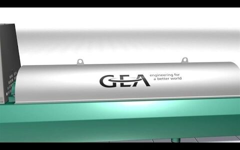 Solid bowl decanter centrifuge, GEA Group