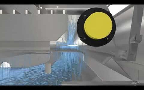 Gravity belt thickener, Alfa Laval